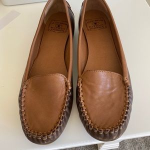 Lucky brand brown loafers size 9